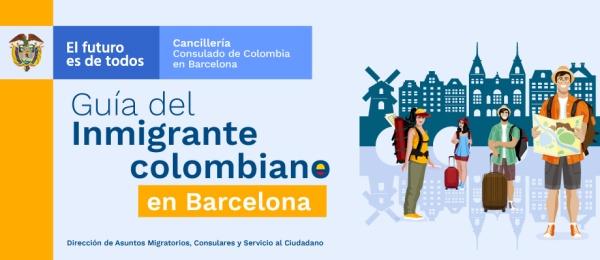 Guía del inmigrante colombiano en Barcelona en 2019