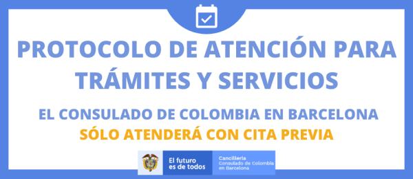Consulte el protocolo de apertura del Consulado de Colombia en Barcelona
